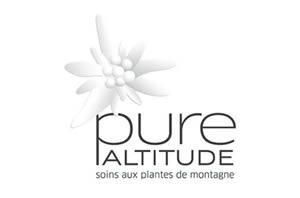Logo pure ALTITUDE Pro Spa Kosmetik Kosmetikstudio Imst