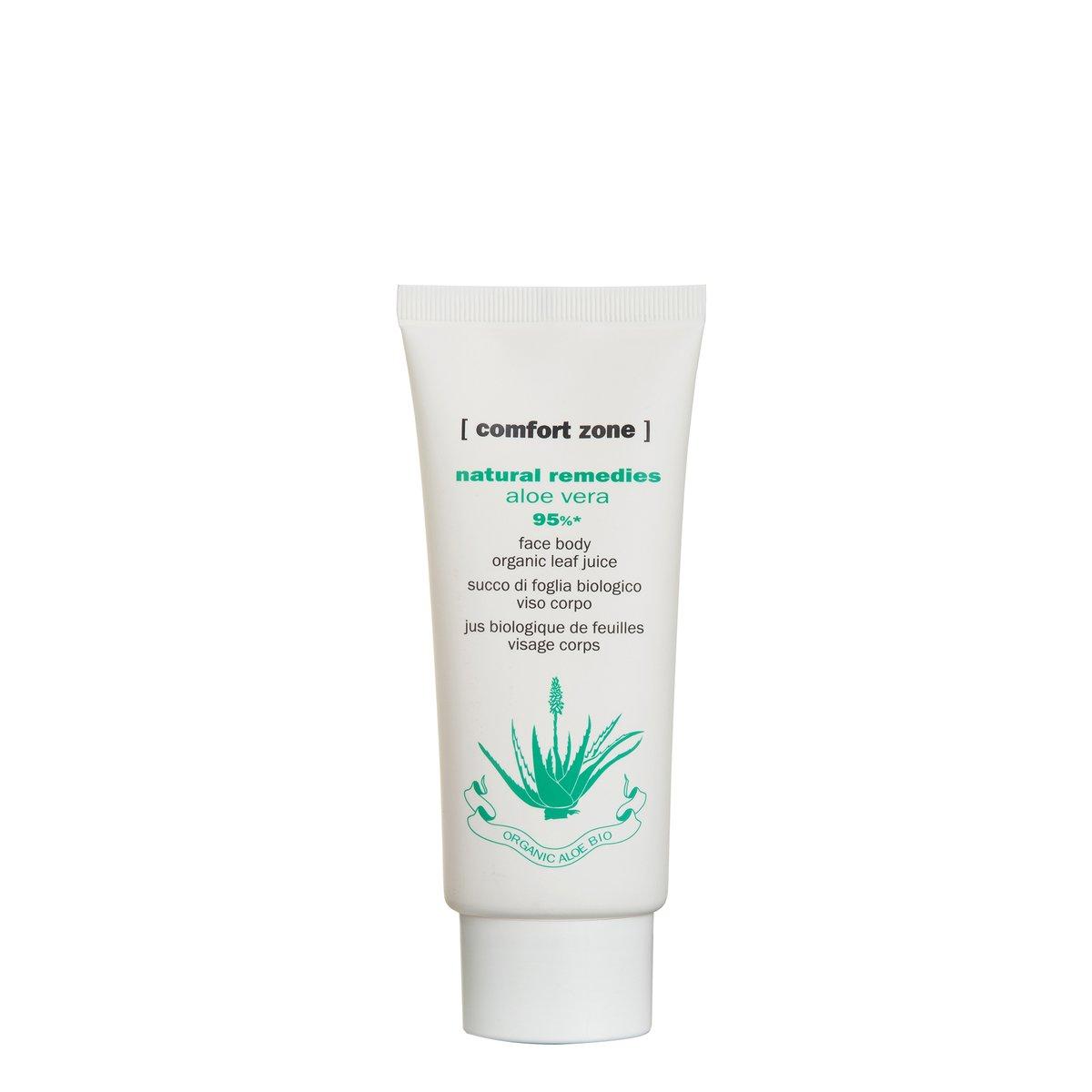 NATURAL REMEDIES ALOE VERA - Organisches Aloe Vera Gel für Gesicht und Körper