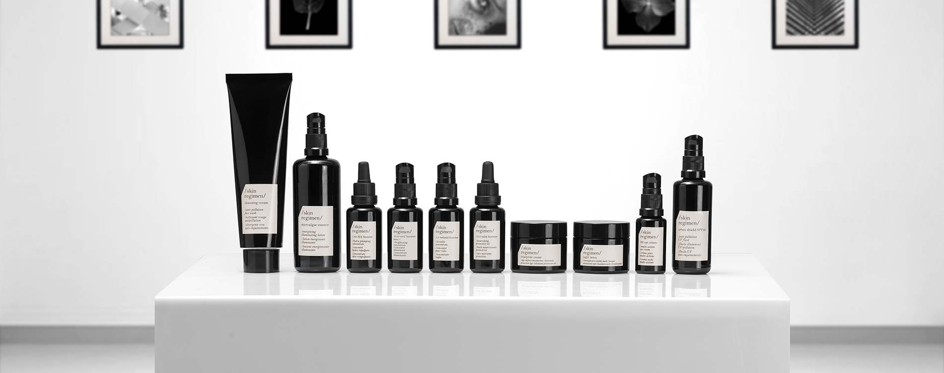 SKIN REGIMEN PRODUCT FAMILY pro spa Kosmetik Shop