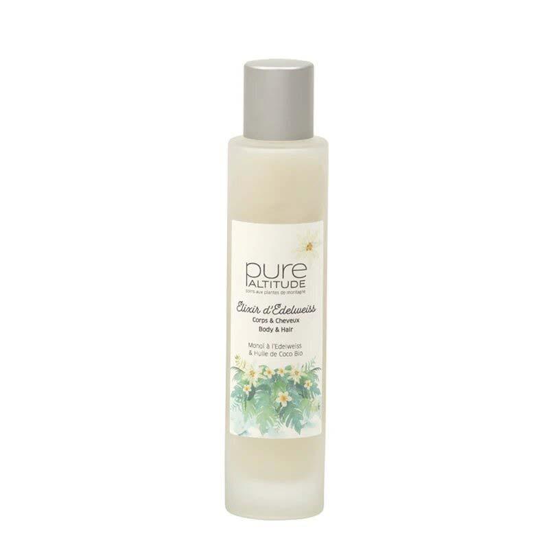 Elixir d´Edelweiss Huile de Beauté Corps et Cheveux Pure Altitude